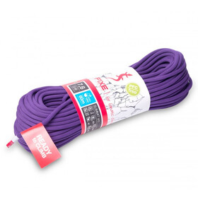 Fixe Summit Fulldry Rope 7,6mm x 60m, fioletowy